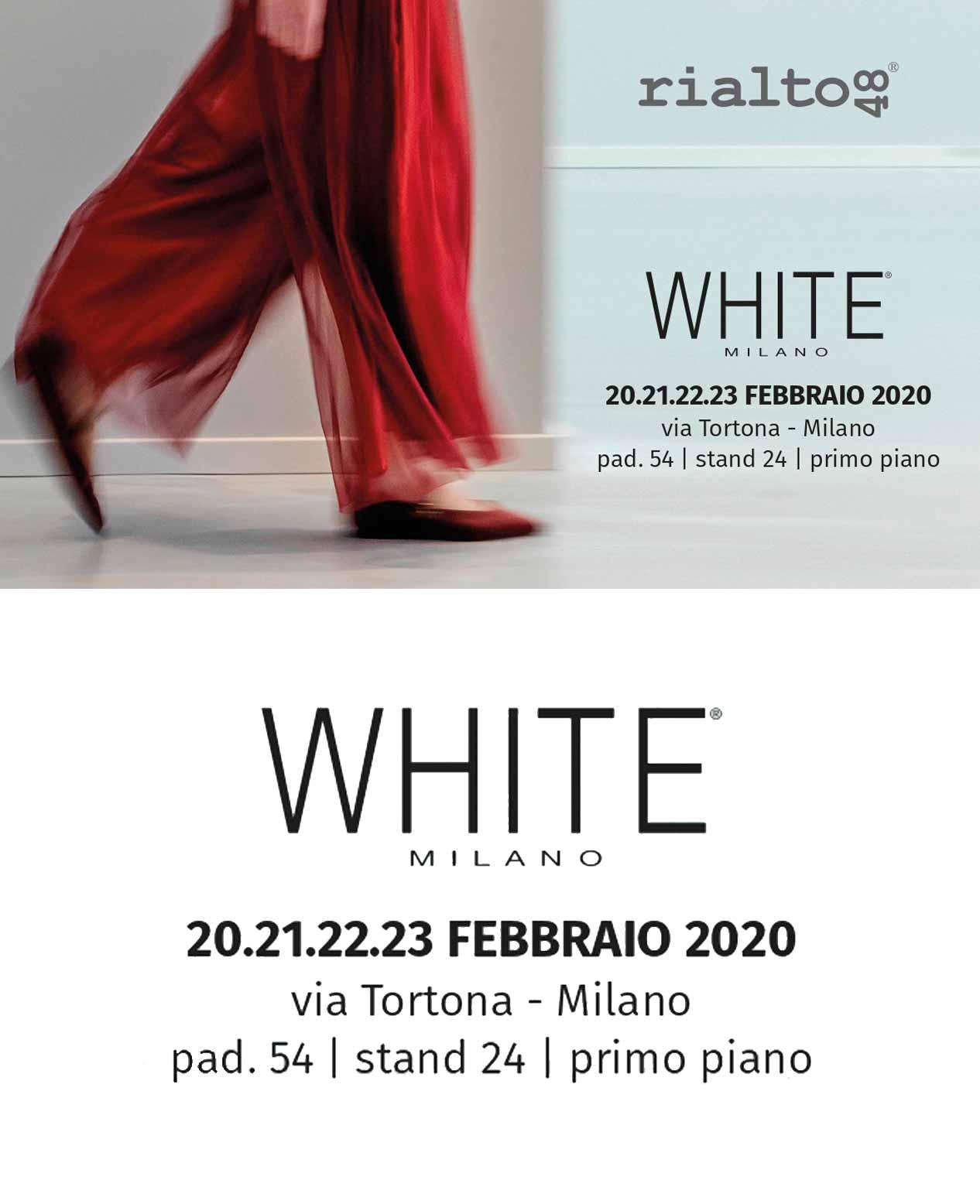 Rialto48 WHITE Milano 2020